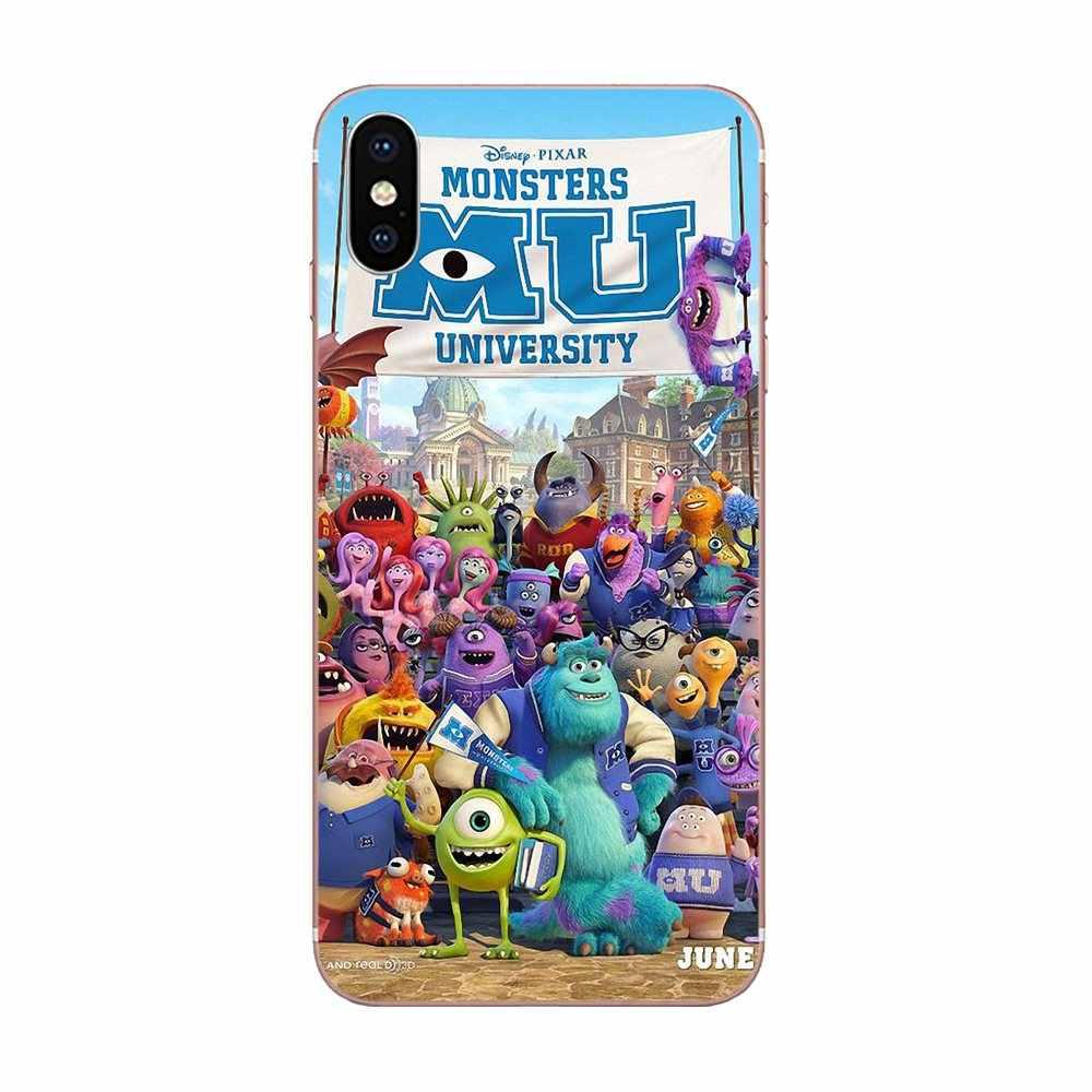 Sulley monstros Universidade Para Huawei P7 P8 P9 P10 P20 P30 Lite Mini Pro Plus 2017 2018 2019 TPU Transparente tampa da Caixa do telefone