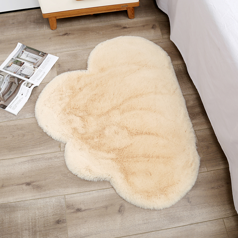 Soft Fluffy Cloud Shape Rug Carpets For Living Room Decor Faux Fur Carpet Kids Room  Bedroom Shaggy Area Rug Modern Mat 70x90cm