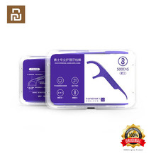 Xiaomi Soocas Toothpicks Dental Flosser Tape Scraper 3 in 1 Xiaomi Soocare Cleaning Professional Dental floss 50 PCS Toothpicks
