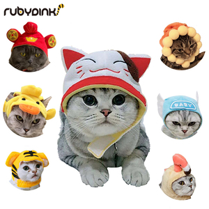 Pet Dog Cat clothes costume halloween cat hat scarf suit cloak dress up New Year pet costume cloak Christmas clothes mascotas(China)