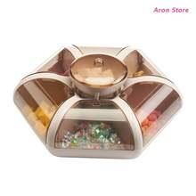 Прозрачная коробка для хранения фруктов в гостиную