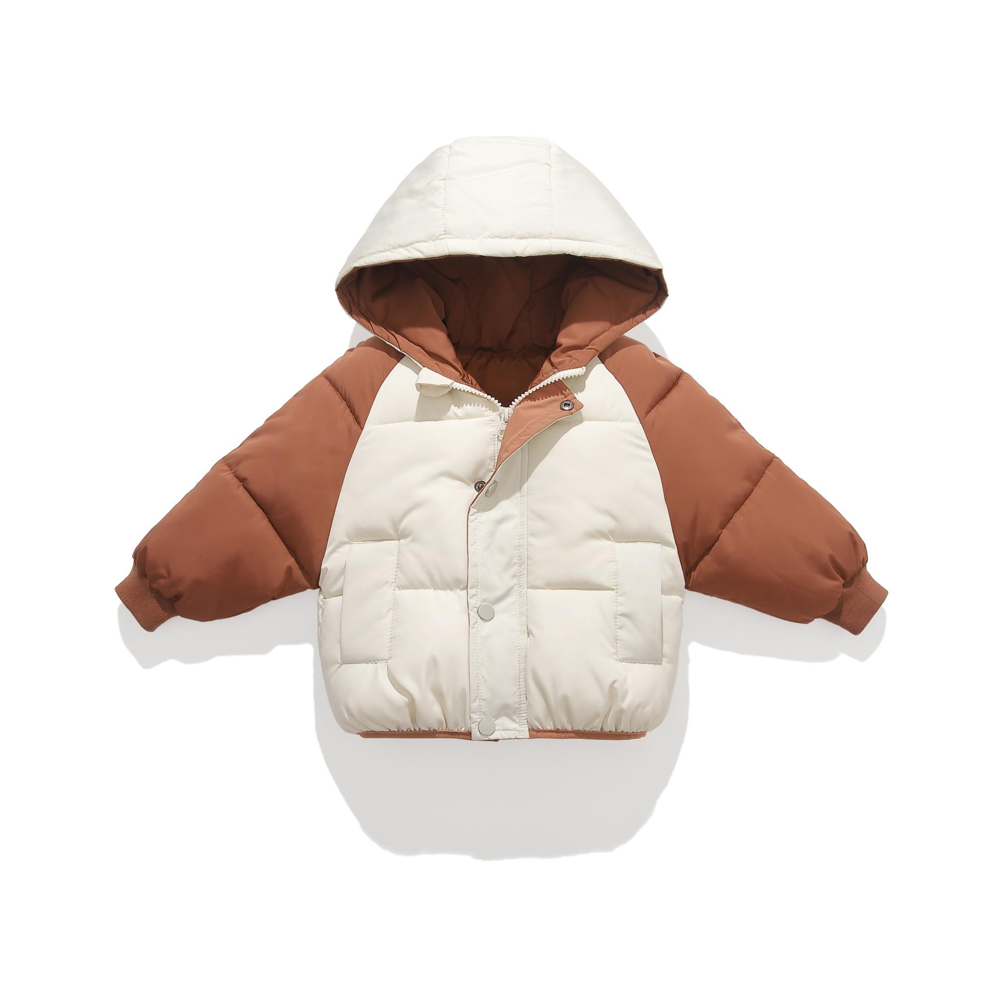 benemaker jaqueta de inverno para o menino criancas menina parkas macacao da crianca com capuz casaco
