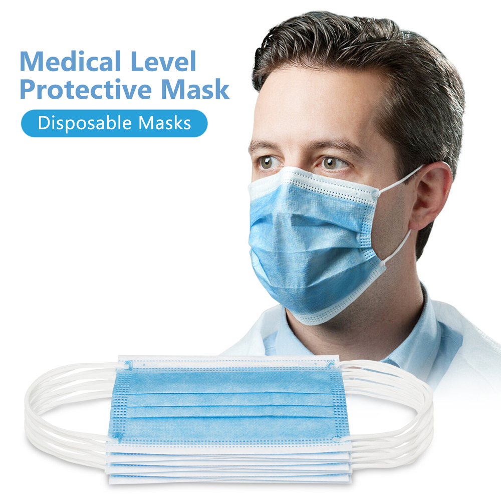 Shipping With In 24 Hours Disposable Mouth Masks Protective Face Mask Surgica Mask Anti-dust Mask Proof Wholesale Fast Delivery
