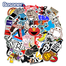 Moto Suitcase Graffiti Sticker Doodle-Stickers Skateboard Laptop Pegatinas Classic 50pcs/Pack