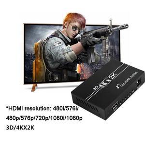 Image 3 - HDMI ספליטר 1X4 1x2 HDMI 1 ב 4 מתוך 1 1 ב 2 מתוך 080P 3D מתאם מתג עבור DVD HDTV מחשב נייד צג