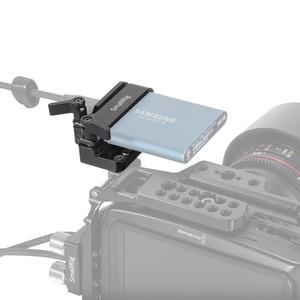 Image 4 - SmallRig מצלמה Rig הר עבור Samsung T5 SSD עבור Blackmagic עיצוב כיס קולנוע מצלמה 4K / 6K SmallRig כלוב 2245