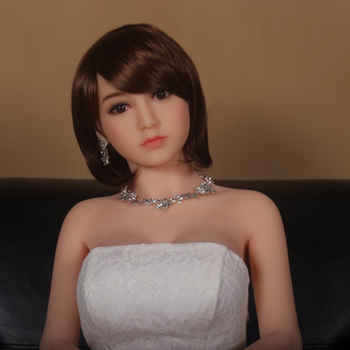 Sex dolls real lifelike full size sex doll for men with medium breast and hips 165cm rubber doll