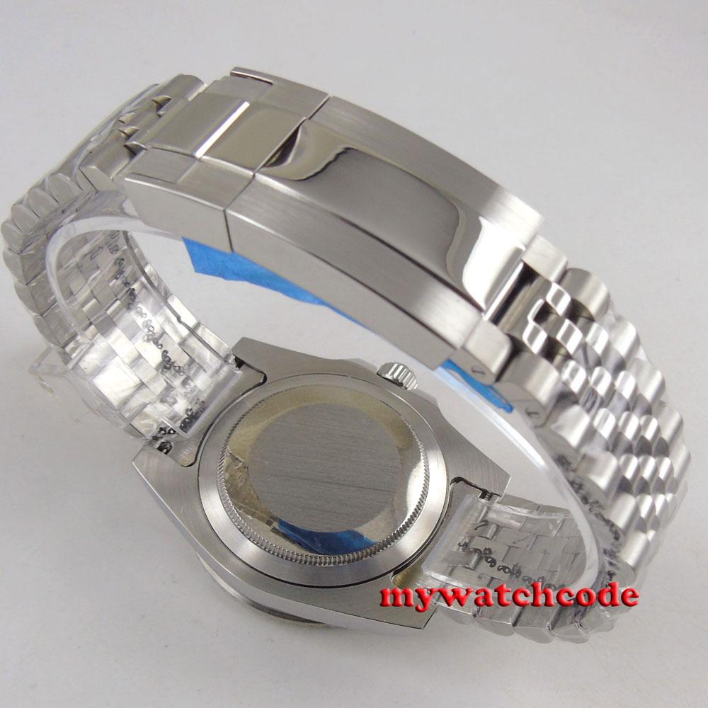 20mm 316L Jubilee stainless steel solid parnis bracelet fit 40mm parnis watch
