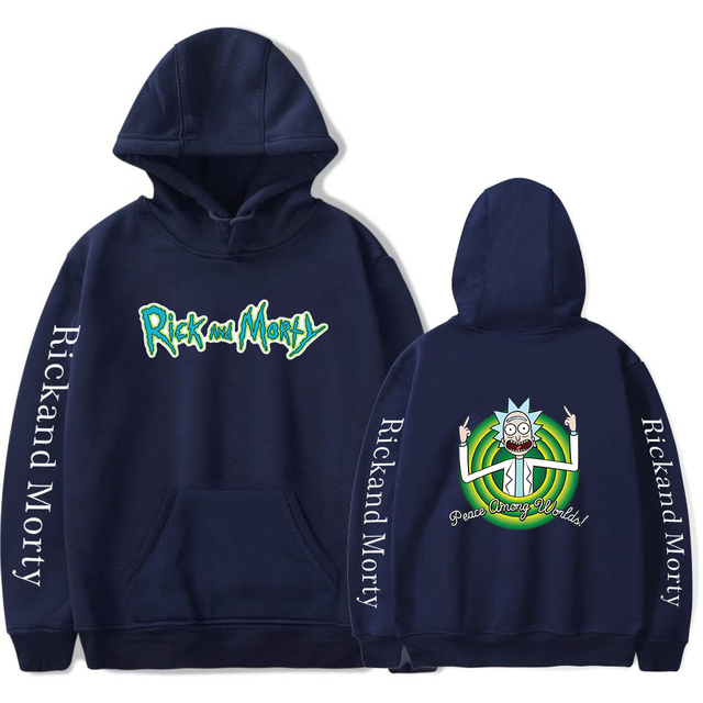 RICK AND MORTY HOODIE (28 VARIAN)