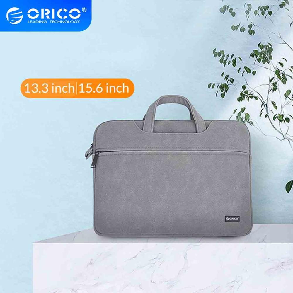 ORICO <font><b>Laptop</b></font> Sleeve Bag Briefcase <font><b>Case</b></font> For Macbook Air Pro 13.3 <font><b>15.6</b></font> Notebook Protective Cover For Dell <font><b>Acer</b></font> Business Handbag image