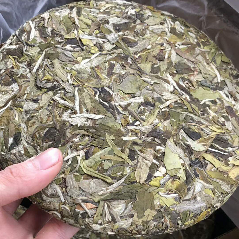 2019 Fuding White Peony White Tea Wholesale New Tea White Peony Factory Direct Sale 350g White Tea Cake 2