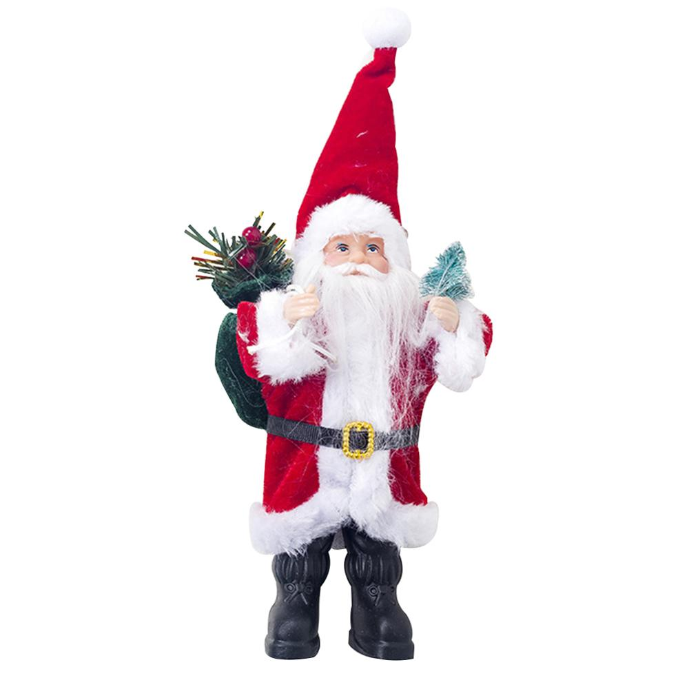 Хит, 30 стилей, рождественские украшения для дома, Рождественские куклы, елочные украшения, инновационная декорация с лосем, Сантой, снеговиком - Цвет: Q 23x10cm