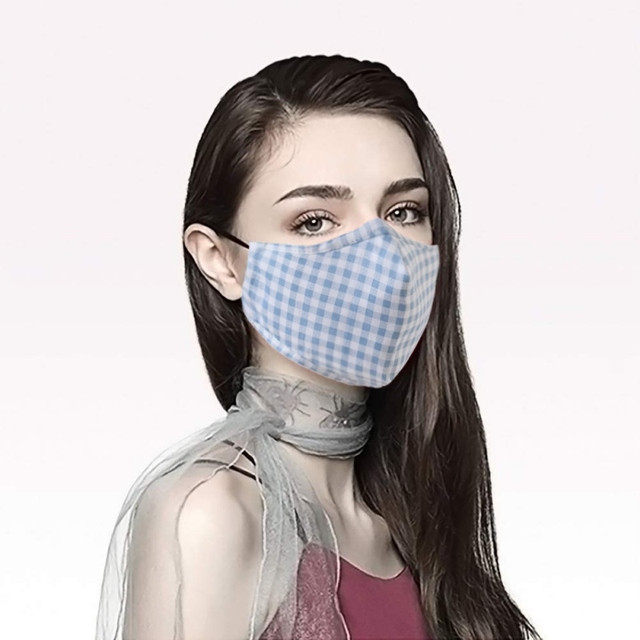 Anit PM2.5 Dust Mask Protective Activated Carbon Filter Mouth-muffle Bacteria Proof Flu Face Masks With 1 filter 3