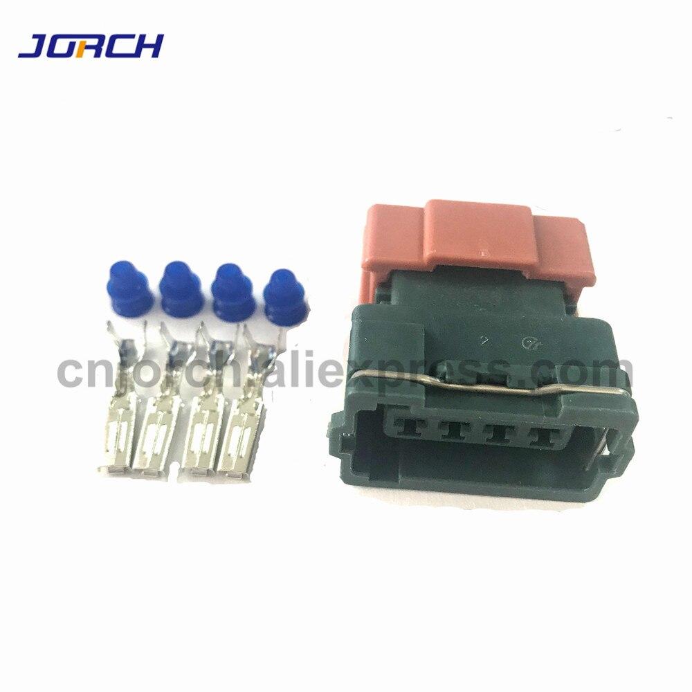 5sets 4 pin Female MAFS S13 SR20 Mass Air Flow Sensor Connector Kum Auto Electrical Sealed Plug  PB187-04446