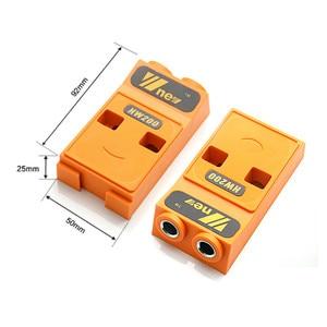 Image 4 - Pocket Gat Jig Kit Systeem Houtbewerking Geneigd Gat Locator Puncher Locator W/Stap Boor & Accessoires