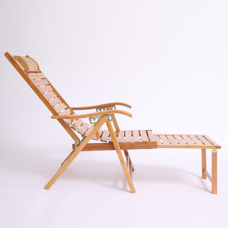 Bamboo Chairs Folding Chairs Bamboo Chairs Adult Siesta Chair Beach Leisure Home Summer Elderly Balcony Chair