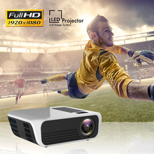 T8 Full HD 1080p Projector LED Projector 4k 5000 Lumens Home