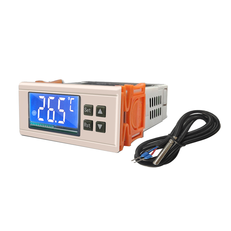 Refrigerator Thermostat STC-8080A + Refrigeration Automatic Defrost Timer Intelligent Controller Single Probe