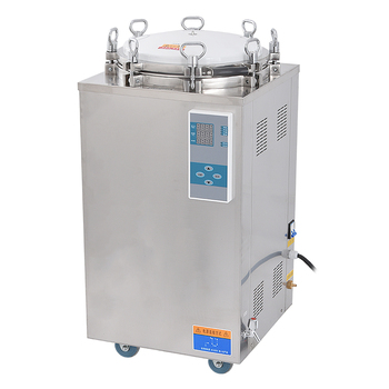 75L 4.5KW Stainless Steel Sterilization Pressure Steam Sterilizer Automatic Disinfecting Cabinet For Surgical Medical LS-75LD shanghai three shen shanghai shenan medical autoclave sterilization pressure steam sterilizer pressure gauge