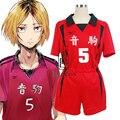 Аниме Haikyuu! Костюм для косплея старшей школы Kenma Kozume Kuroo Tetsuro Haikiyu воллейбол команда Джерси Спортивная одежда