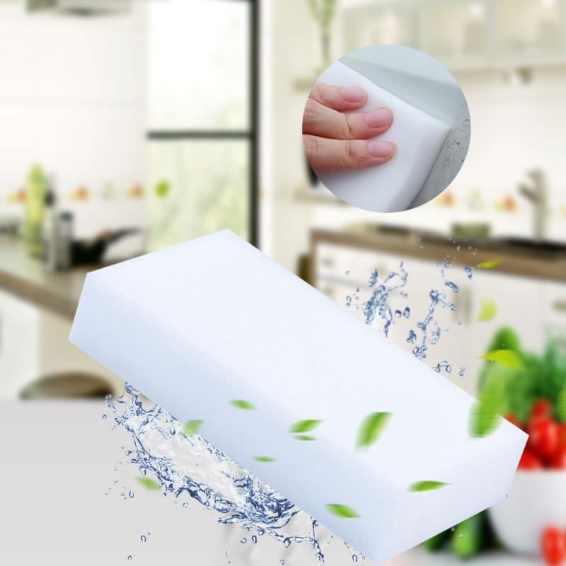 Волшебная губка из меламина, 20/40/100 шт., многофункциональная губка для уборки дома, ванной, кухни, мебели