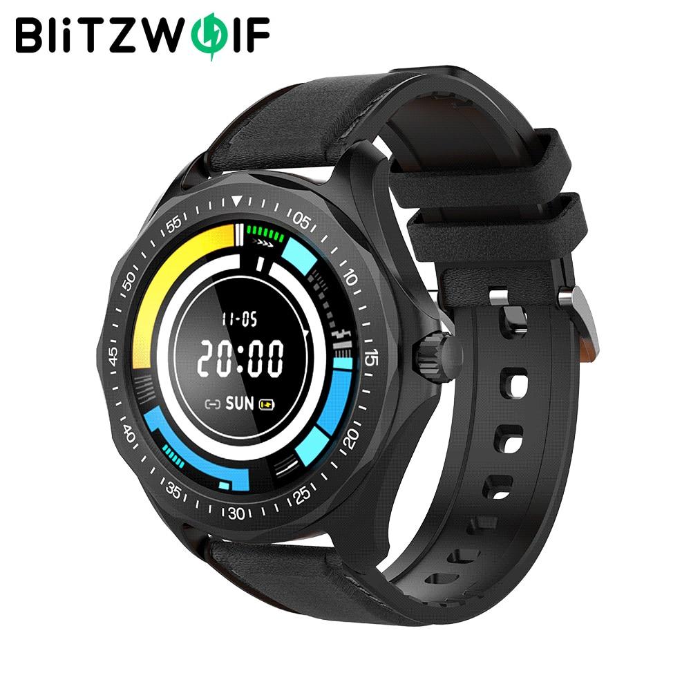 BlitzWolf Official Store BW HL3 Smart Watch Heart Rate Blood Pressure Monitor Fitness Track Sport 2020 Smartwatch For Men Women|Smart Watches| - AliExpress