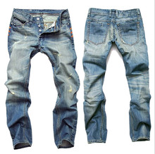 Hot Sale Casual Men Jeans Straight Slim Cotton High Quality Denim Jeans Men Retail & Wholesale Warm Men Jeans Pants