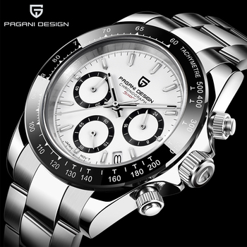 PAGANI DESIGN Top marka mężczyźni sport zegarek kwarcowy luksusowy mężczyzna zegarek wodoodporny nowy mody męski zegarek na co dzień relogio masculino tanie i dobre opinie 22cm BIZNESOWY QUARTZ NONE 10Bar Składane bezpieczne zapięcie CN (pochodzenie) STAINLESS STEEL 12mm SZAFIROWY KRYSZTAŁ
