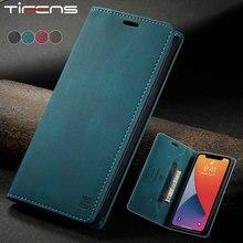 Luxus Leder Magnetische SE 2020 Fall Für iPhone 12 Mini 11 Pro XS Max XR X 8 7 6 6s Plus Flip Brieftasche Karte Stand Telefon Taschen Abdeckung