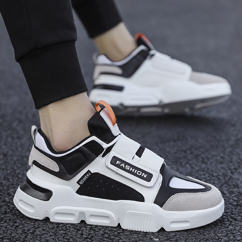 2020 Fashion Outdoor Orange Platform Men Shoes For Couples Microfiber Men Sneakers Zapatillas Hombre Zapatos De Hombre
