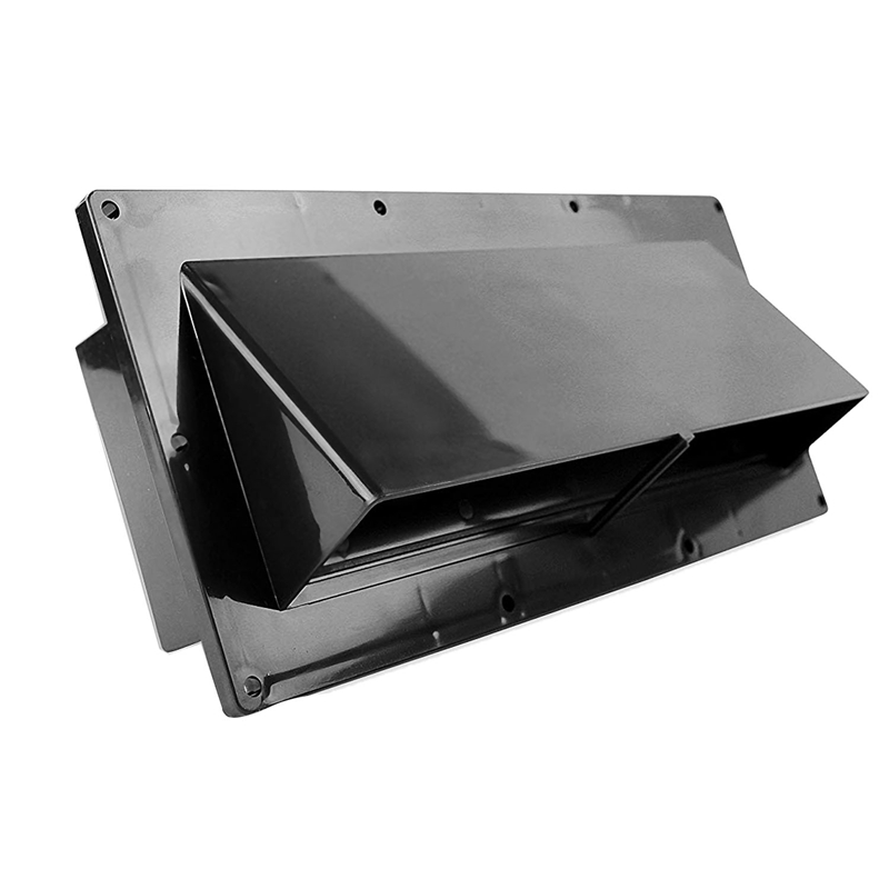 RV Range Hood Vent Exhaust Vent Cover RV Range Hood Cover Stove Vent Cover With Lockable Clips