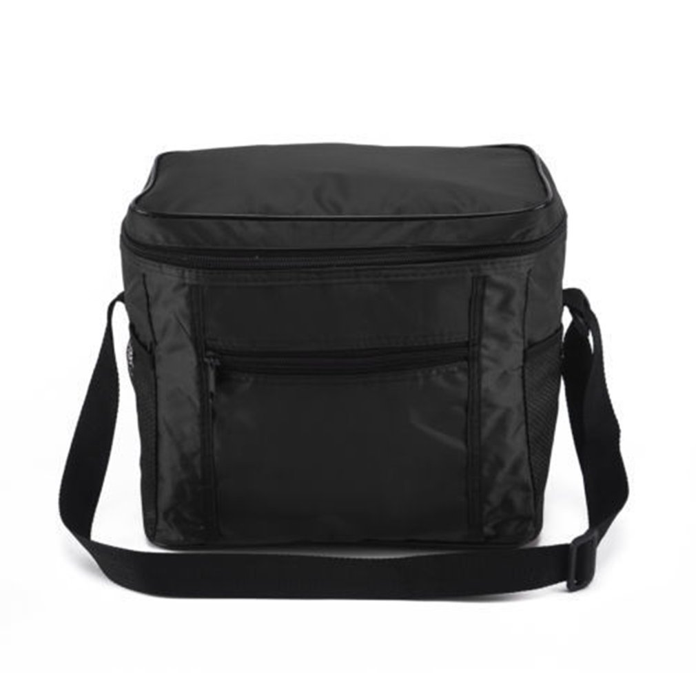 Portable Cooler Bag For Food Preservation Storage Picnic Thermal Insulation Bags Travel Nylon Women Lunch Bags