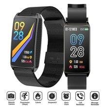 GT58 Smart Watch Men Women Bracelet Heart Rate Monitor Health Band Call Reminder Waterproof Touch Screen Wristband