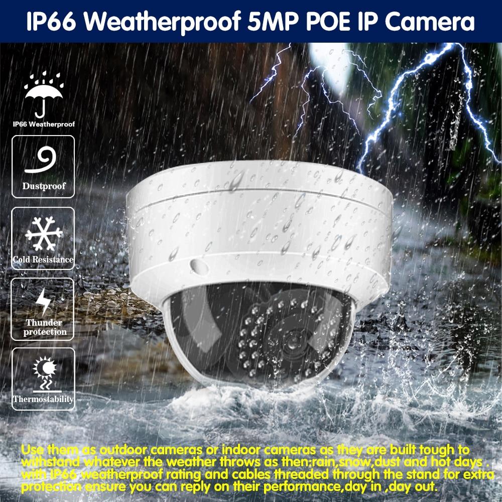 4CH 8CH POE 5MP 48V NVR System 5MP h.265 Audio Record NVR Kamera Kit Outdoor P2P IR CCTV Überwachung home Security Video Set