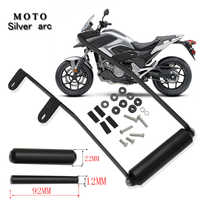 motorcycle FOR NC750X 2016-2020 2019 2018 2017 support mobile phone bracket plate GPS NC750 X NC 750 X black