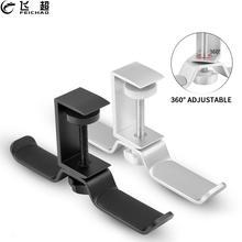 Bracket-Hanger Headphone-Holder Desk-Stand-Rack Headset Rotatable Metal 2-In-1 360-Degree