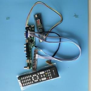 Комплект для LQ164M1LA4A/B 1920x1080 AV ТВ Аудио 2 лампы монитор VGA HDMI USB панель LVDS светодиодный экран контроллер дисплея плата ЖК