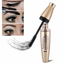 3d fibra rímel longo preto lash cílios extensão à prova dwaterproof água olho maquiagem extensão cílios 3d fibra de seda lash rímel