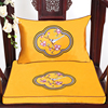 Custom New Fine Embroidery Flower Birds Chinese Seat Pads Dining Chair Armchair Cushions Silk Satin Non-slip Sitting Mats Decor