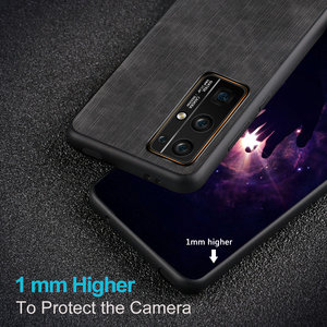 Image 4 - MOFi for Honor 30 Pro Case for Huawei Honor30 30Pro Cover Housing Silicone  Shockproof Jeans PU Leather Back TPU Dustproof