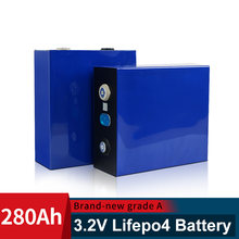 EVE 3.2V 280AH BRAND NEW Lifepo4 Grade A DIY Rechargeable Battery Pack EU US Tax Free With Busbars