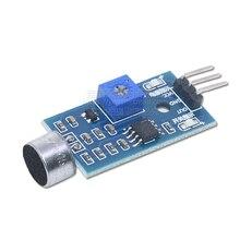 Звуковой сенсорный модуль микрофонный модуль голосового переключатель гудка 3-жильный Jxinw