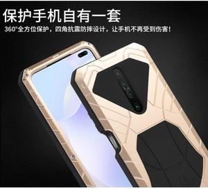 Image 5 - IMATCH Aluminum Metal Silicone Shockproof Case For Xiaomi Redmi Mi 10t Lite Pro ultra K30 K20 9T Pro F1 Dirt Shock Proof Case