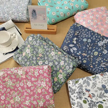Retro Floral Fabric Patchwork Breathable Cloth By Meters For Quilting Baby Bedding Blanket Sewing Cloth Material