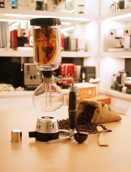 Syphon Coffee Machine Coffee Maker Glass Coffee Maker Coffee Pot Siphon Set Gift akira halogen beam heater syphon coffee maker heater siphon coffee maker tool vacuum coffee pot beam heater with high quality