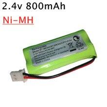2,4 В 800 мАч AAA Ni-MH Аккумуляторная батарея для телефона для фототехники фотоблок BT166342 166342 фотоаккумулятор 1-20 шт.