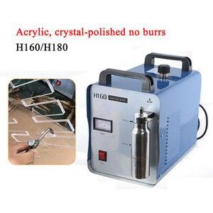 Image 1 - Polisseuse à flamme acrylique 95L 75l H180 H160, Machine à souder à leau, générateur doxygène et dhydrogène pour les bijouteries et les serpentins, 220V