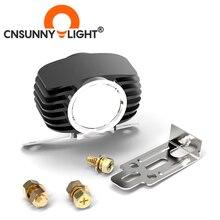 15W LED samochodów zewnętrzny reflektor biały wysoki/niski motocykl DRL Moto reflektor reflektor jazdy skuter mgła Auto światło punktowe DC12V/24V