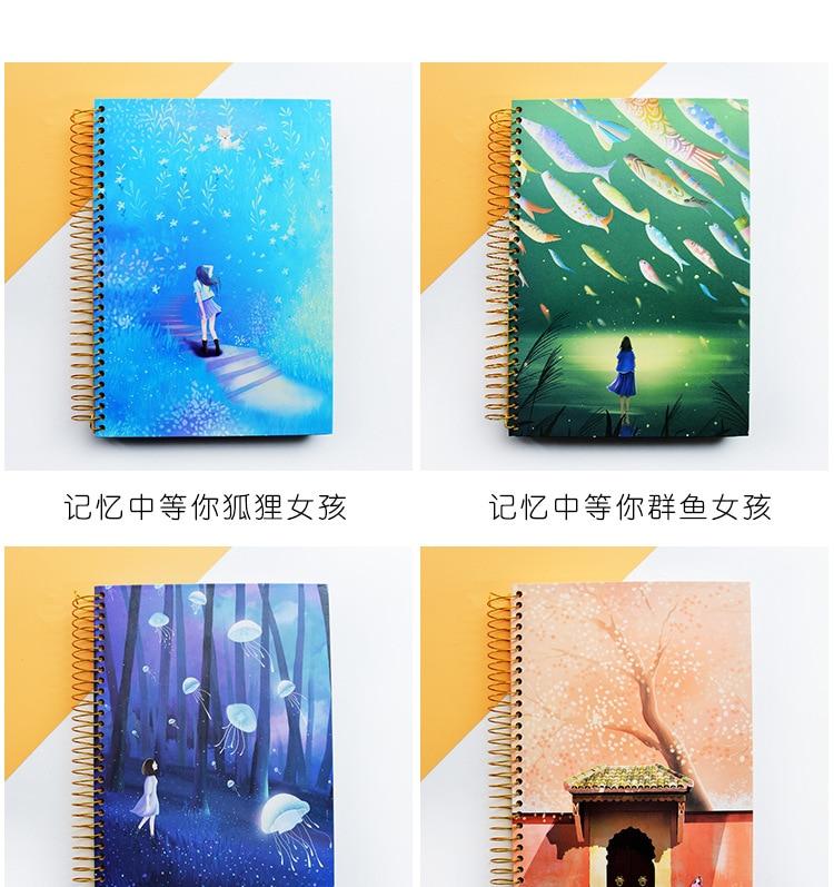 cartão de livro lágrima notepads papelaria presente