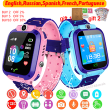 S9 Waterproof Kids Smart Watch SOS Antil lost Smartwatch Baby 2G SIM Card Clock Call Location Tracker Smartwatch PK Q50 Q90 Q12